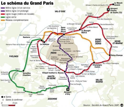 L'ambition du Grand Paris / Le Grand Paris / Aménagement ...