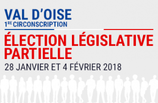 Election législative partielle - 1ère circonscription du Val-d'Oise